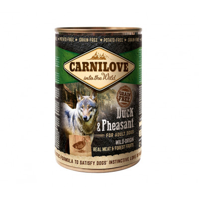 CARNILOVE Konzerv Adult Kacsa-Fácán 400g