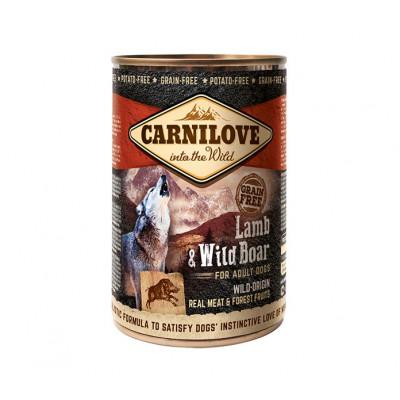 CARNILOVE Konzerv Adult Bárány-Vaddisznó 400g