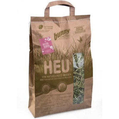 bunnyNature Hay From Nature Conservation Meadows (with Meadow Flowers) 250g