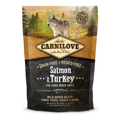 CarniLove Adult Large Lazac-Pulyka 1,5kg