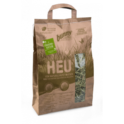 bunnyNature Hay From Nature Conservation Meadows with Dandelion Leaves 250g